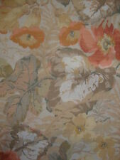 43cm SANDERSON Exbury vintage retro linen union upholstery fabric remnant