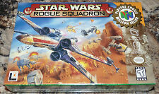 NINTENDO 64 - STAR WARS: ROGUE SQUADRON Game COMPLETE New SEALED V-Seam