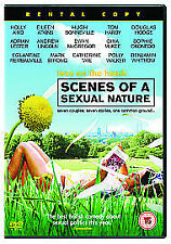 SCENES OF A SEXUAL NATURE - EWAN McGREGOR / MARK STRONG / TOM HARDY - DVD
