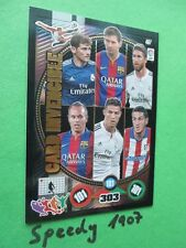 Panini Adrenalyn Liga BBVA 2015 Card Invencible Casillas Messi Ramos Iniesta