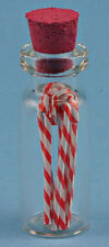 Dollhouse Miniatures 1:12 Scale Filled Candy Cane Jar Item #IM65000