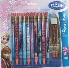 Paper Mate Disney Frozen Mechanical Pencils Pack 10 1.3mm HB #2 Lead Refill