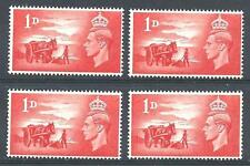 GB 1948 Sc# 269 Great Britain liberation of Cannel Islands 4 stamps MNH