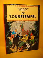 Strips Kuifje De Zonnetempel Herge 1997 Soft cover