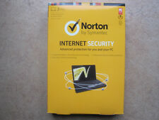 Norton Internet Security 2013 3 PCs 1 Year Free Latest 2015 Upgrade Retail Box