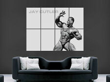 JAY CUTLER BODYBUILDING MR OLYMPIA USA ART WALL LARGE IMAGE GIANT POSTER
