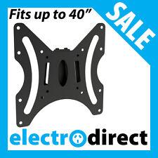 LCD LED FIXED TV WALL MOUNT BRACKET TELEVISION Fits from 10 to 40 inch TV's