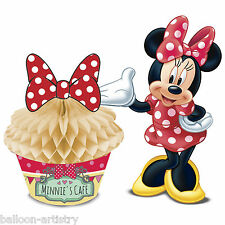 Disney Minnie Mouse Cafe Birthday Party Cupcake Table Centrepiece Decoration