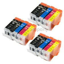 Cartuchos 15x para Canon ip4300 mp970 mx700 mx850 ip3300 ip3500 ip4200 ip4200x set