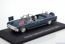 1:43 Norev Lincoln Continental Saloon SS-100-X J.F. Kennedy 1963 blue
