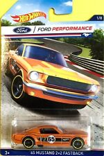 Hot Wheels 2016 Walmart Excl.  #1 65 MUSTANG 2+2 FASTBACK * See Card Condition