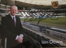 7x5 Hand Signed Photo of Iain Dowie Sky Sports AM Hull City Northern Ireland