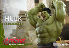THE AVENGERS: AGE OF ULTRON~HULK~DELUXE SIXTH SCALE FIGURE SET~HOT TOYS~MIB