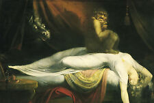 Framed Print - The Nightmare by John Henry Fuseli 1781 (Picture Vintage Art)