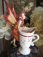 Amy Brown CIDER CUP FAERY Fairy Figurine New in Box
