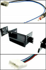 Single Din Car Stereo Radio Install Dash Kit Combo for select Nissan Versa Cube