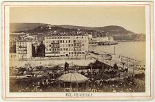 Carte Album Albuminé Nice Côte d'Azur Vers 1880