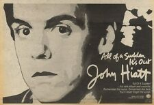 5/6/82Pgn21 Advert: John Histt Album all Of A Sudden Its Out 7x11