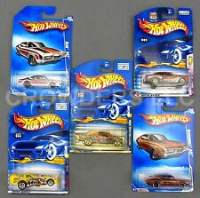 Hot Wheels 6 Car Lot Olds 442 Chevy Pro Stock Truck Extreme Sports Chevelle SS