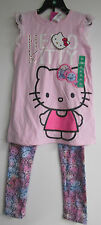 NWT HELLO KITTY PINK SIZE 6X  2-PCS.PINK..