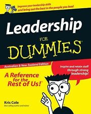 Leadership for Dummies® by Kris Cole and Matt Cole (2011, Paperback)