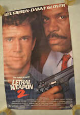 Lethal Weapon 2 One Sheet Original Movie Poster 26 x 39.5