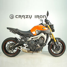 Yamaha MT-09 FZ-09 Engine Guard Crash Bars Protecciones De Motor with Sliders