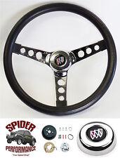"""1973-1987 Regal steering wheel CLASSIC CHROME 13 1/2"""" Grant steering wheel"""