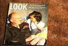 LOOK MAGAZINE 1947 MARCH 18  FINE+ FILE COPY EISENHOWER STATE OF THE NATION