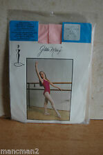 GILDA MARX FULL FOOT BALLET/DANCE TIGHTS  SIZE 4-6 PARIS PINK
