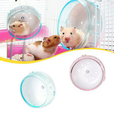 Nice Hamster Mouse Rat Exercise Plastic Silent Running Spinner Wheel Pet Toy 2#A