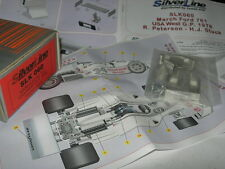 SilverLine Tameo 1:43 KIT SLK 060 March 761 F.1 Ford GP USA West 1976 NEW