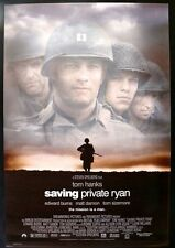 SAVING PRIVATE RYAN DOUBLE SIDED ORIGINAL MOVIE POSTER 1998 TOM HANKS MATT DAMON