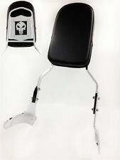 Skull Backrest Sissy Bar Fit 1997-2003 Honda Shadow Ace 750 Vt750 400 Vt400