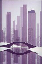 """Eyvind Earle     """"Central Park""""    MAKE  OFFER    DSS"""