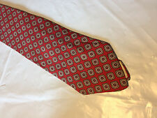Mens Red Brown Black Tie Necktie RACINE~ FREE US SHIP (10797)