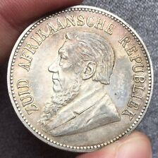 South Africa 5 Schilling 1892 Beautiful  Very Rare This Grade!!!!
