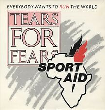 """Tears For Fears Everybody Wants to RUN the World 12"""""""