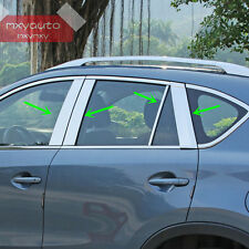 Stainless Steel Window Pillar Posts Trim For Mazda CX-5 2012 2013 2014 2015 2016