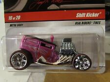 Hot Wheels Larry's Garage Real Riders Tires Shift Kicker Pink Wheel Error