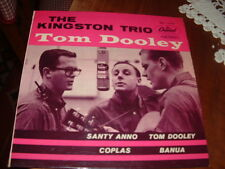 "THE KINGSTON TRIO "" TOM DOOLEY + 3  "" E.P.  ITALY'59"