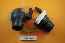F3-1100006 COPPIA COMANDI CAMBIO BICICLETTA BICI 3X 7 VELOCITÀ GRIP SHIFT