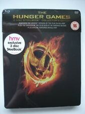 THE HUNGER GAMES   -   HMV Blu Ray Steelbook   -  NEW & SEALED