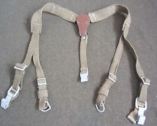 WWII GERMAN M1942 M42 WEB EQUIPMENT COMBAT Y-STRAPS