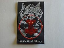 UNLEASHED DEATH METAL VICTORY EMBROIDERED PATCH