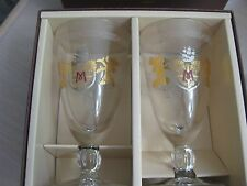 Tokyo Disney Sea Hotel Miracosta Mickey Minnie Glasses Set of 2