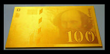 "★★ BILLET POLYMER  "" OR "" DU 100 FRANCS CEZANNE ● DESTOCKAGE ★★ REF1"