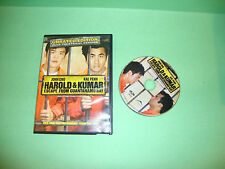 Harold and Kumar Escape from Guantanamo Bay (DVD,Unrated And Theatrical Version)