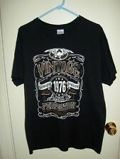 41st Birthday Tee T Shirt Vintage 1976 Aged to Perfection 100% Cotton Large