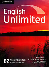 Cambridge ENGLISH UNLIMITED UPPER-INTERMEDIATE B2 Class Audio CD's (3) @NEW@